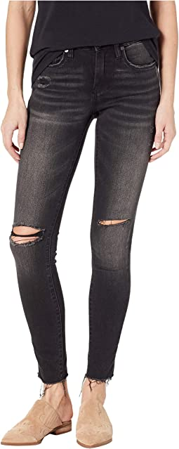 The Bond High-Rise Skinny in Superwoman