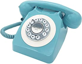 $32 » Corded Retro Phone, TelPal Vintage Old Phones, Classic 1930's Antique Landline Phones for Home & Office Decor, Novelty Hot...