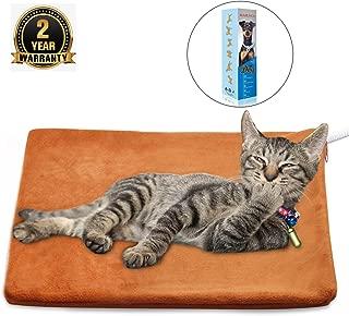 MARUNDA Pet Heating Pad,Cat Dog Electric Pet Heating Pad Indoor Waterproof,Auto Constant Temperature, Chew Resistant Steel Cord