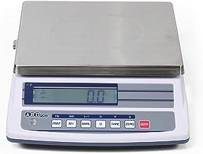 ABDPRO ABD Balance - Balance Compacte Portée 6 kg/Précision 0,2 g - Balance Professionnelle Haute Qualité - Grand Plateau ...
