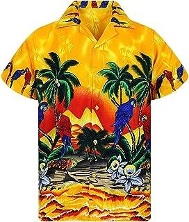 062fc929c8abe Y56 Plage D'été Hawaiian Chemises Casual Button vers Le Bas à Manches  Courtes Funky