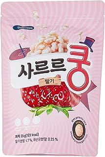 BeBecook Baby Melting Puff w Probiotics (Strawberry), 23g