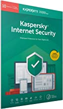 Kaspersky Internet Security 2019 | 10 Devices | 1 Year | PC/Mac/Android | Activation Code by Post