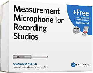 Sonarworks XREF20R4 kalibracyjny mikrofon pomiarowy do studia nagrań