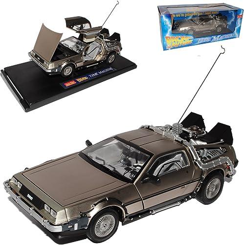 de Lorean Delorean Back To Future Zukunft in Die Zukunft 1 18 Sunstar Sun Star Sunstar Modellauto Modell Auto SondeRangebot