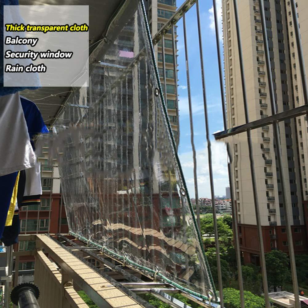 Lona Clara, Tela De Lluvia Transparente, Planta De Invernadero Con Balcón Cubierta De Lluvia A Prueba De Polvo A Prueba De Polvo A Prueba De Polvo (Envía La Corbata),10×14m/33×45.9ft: Amazon.es: Bricolaje y