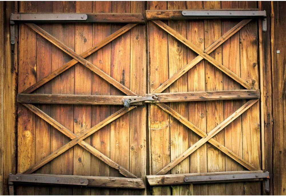 OFILA Wooden Door Backdrop 9x6ft Barn Sales Outlet sale feature for sale Photography Backgroun Farm