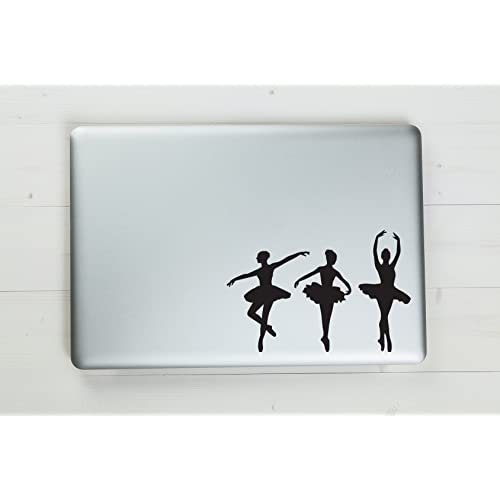 "Magnetic Car Stickers Ballerina 6.5/"" x 4.5/""Chrome Magnetic Sports Stickers for Indoor Outdoor Long Lasting Weatherproof Reflective Fade-Resistant Car Decal A Perfect Gift Idea for Ballerina Lovers"