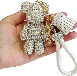 Bestbling Fashion Bling Czech Rhinestone Keychain Handbag Car Keyring