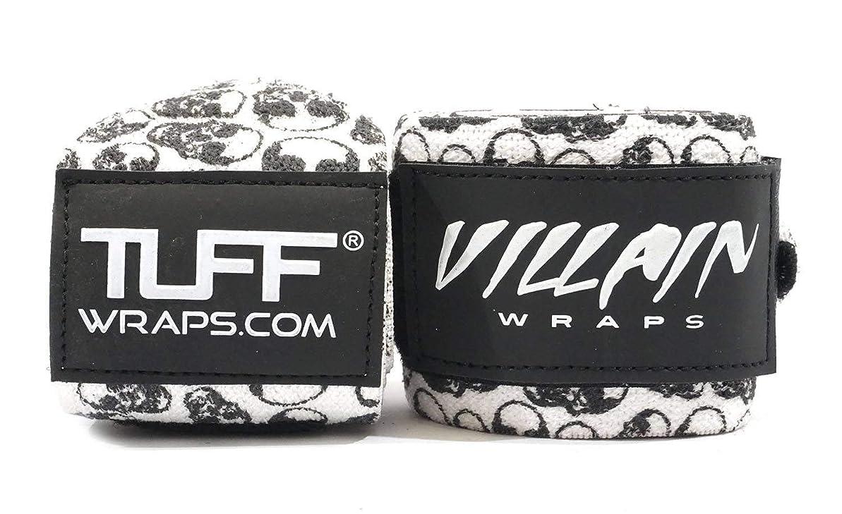 寸法不均一検証タフラップ(tuff Wraps)リストラップ 筋トレ用手首固定サポーター