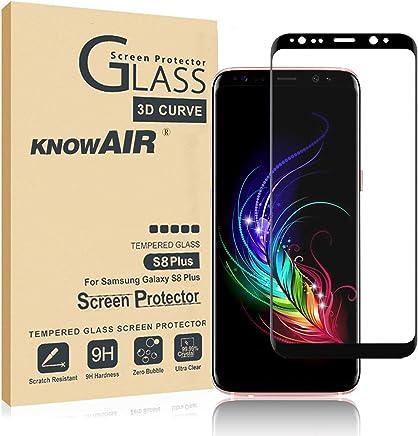 e2f47b9b6f2 [2 Pack] Galaxy S8 Plus Screen Protector Tempered Glass, [Update Version]