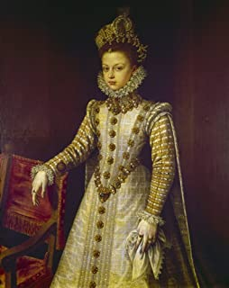 Infanta Isabel Clara Eugenia N(1566-1633) Daughter Of Philip Ii Of Spain And Archduchess Of The Netherlands Oil On Canvas 16Th Century By Alonso Sanchez Coello Poster Print by (24 x 36)