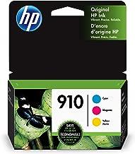 HP 910 | 3 Ink Cartridges | Cyan, Magenta, Yellow | 3YL58AN, 3YL59AN, 3YL60AN