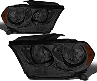 For Durango Pair Smoked Housing Amber Side Headlight/Lamps Left+Right