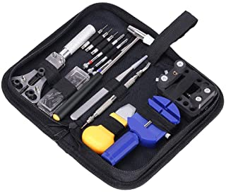 13 Piece Watch Link Repair Remover Holder Tool Kit Set