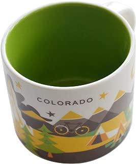 Starbucks You Are Here Collection COLORADO Mug - New