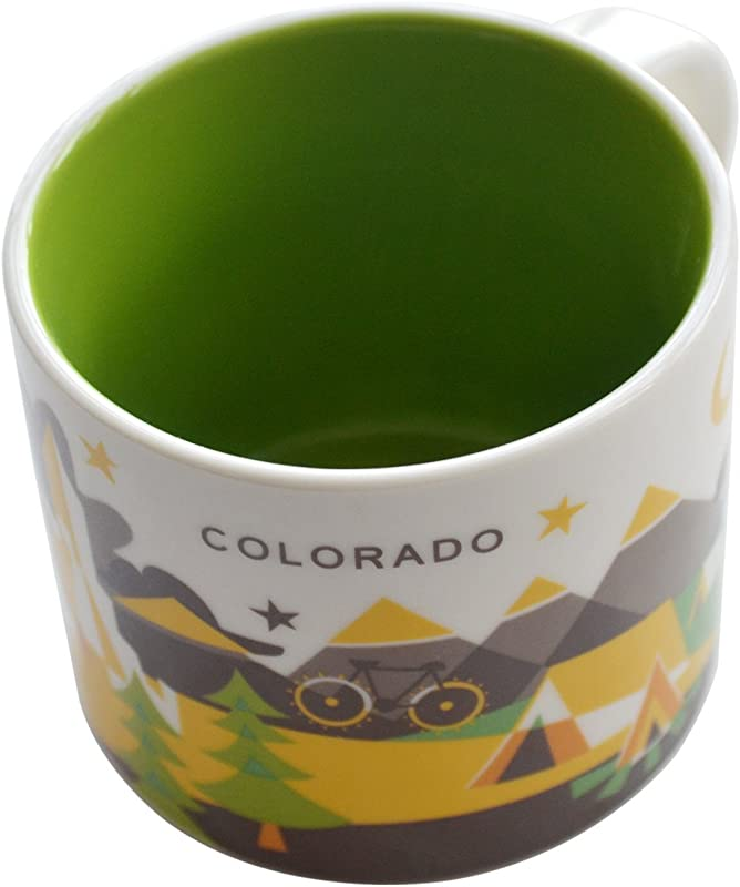 Starbucks You Are Here Collection COLORADO Mug New