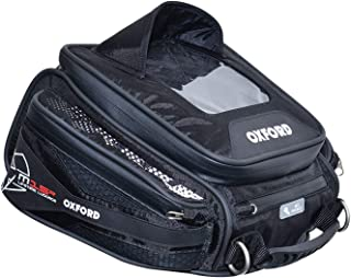 Oxford OL216 Black 15 L Tank Bag (Q15R Quick Release Motorcycle)