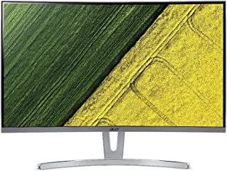 Acer ED273 Monitor, White, 27 Inches