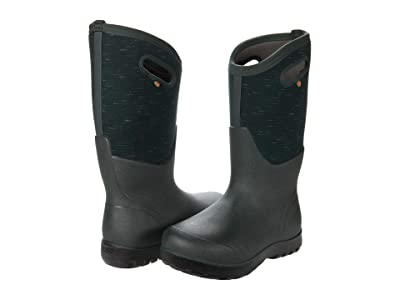Bogs Neo-Classic Tall Melange (Dark Green Multi) Women