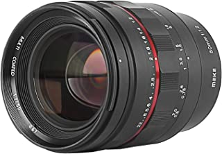 MEKE 50mm F1.2 Large Aperture Manual Focus Full Frame Lens for Panasonic Sigma Leica L-Mount Cameras S1H S1 S5 S1R FP