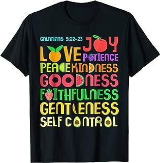 Best fruit of the spirit t shirt Reviews
