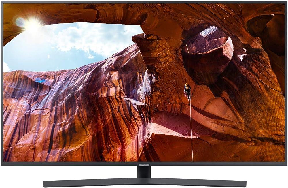 Samsung  smart tv 4k ultra hd 65 pollici wi-fi dvb-t2cs2, serie ru7400 2019, 3840 x 2160 pixels UE65RU7400U