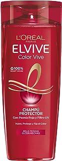 LOreal Paris Elvive Color Vive Champú Protector para el pelo teñido - 285 ml