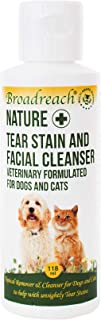 Broadreach Nature + Tear Stain and Facial Cleanser for Dogs and Cats 118 ml