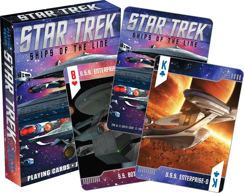 Aquarius Star Trek Ships of the Line Playing Cards Deck