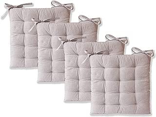 etérea Sitzkissen Stuhlkissen Ilka Sitzauflage Auflage 40x40 cm Baumwolle