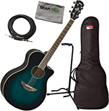 Yamaha APX600 OBB Thinline Acoustic-Electric Guitar Bundle w/Bag