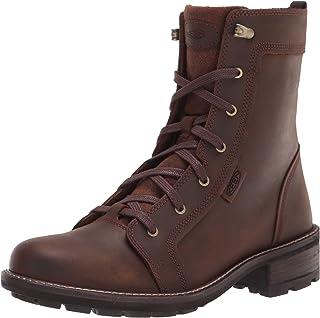 حذاء طويل الرقبة برقبة كاجوال مصنوع من الجلد عالي الارتفاع من KEEN