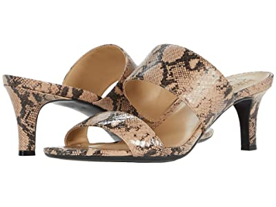 Naturalizer Tibby (Barely Nude Snake Print Leather) Women