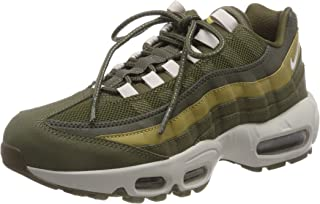 Nike Mens Air Max 95 Leather Textile Trainers