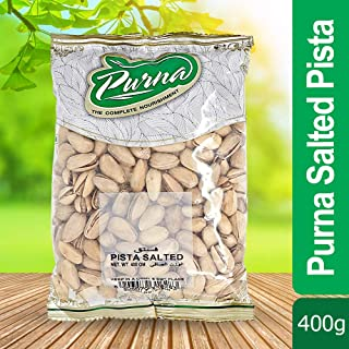 Purna Salted Pista - 400 gm
