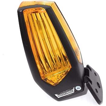 Motorline MP205 nueva lámpara destellante led multitensión para señalizar maniobra de puertas automáticas de garaje, cancelas correderas, parking, luz intermitencia destello señalización: Amazon.es: Bricolaje y herramientas