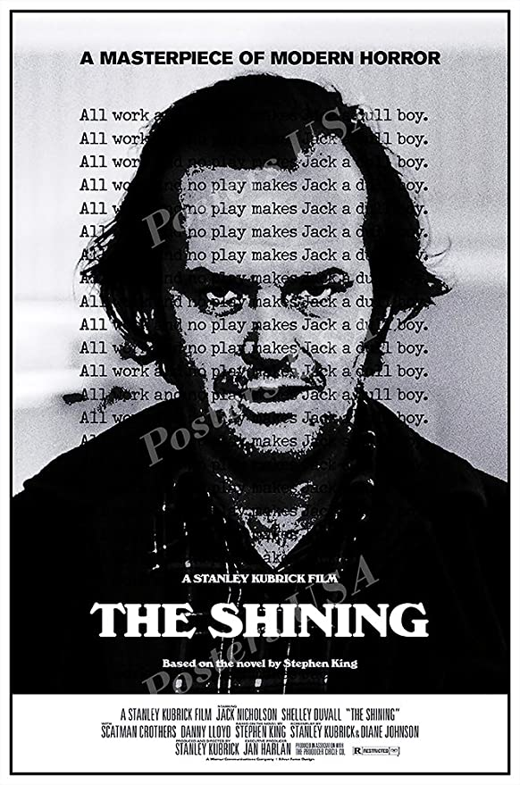 Posters Usa The Shining Movie Poster Glossy Finish Mov085 24 X 36 61cm X 91 5cm Posters Prints