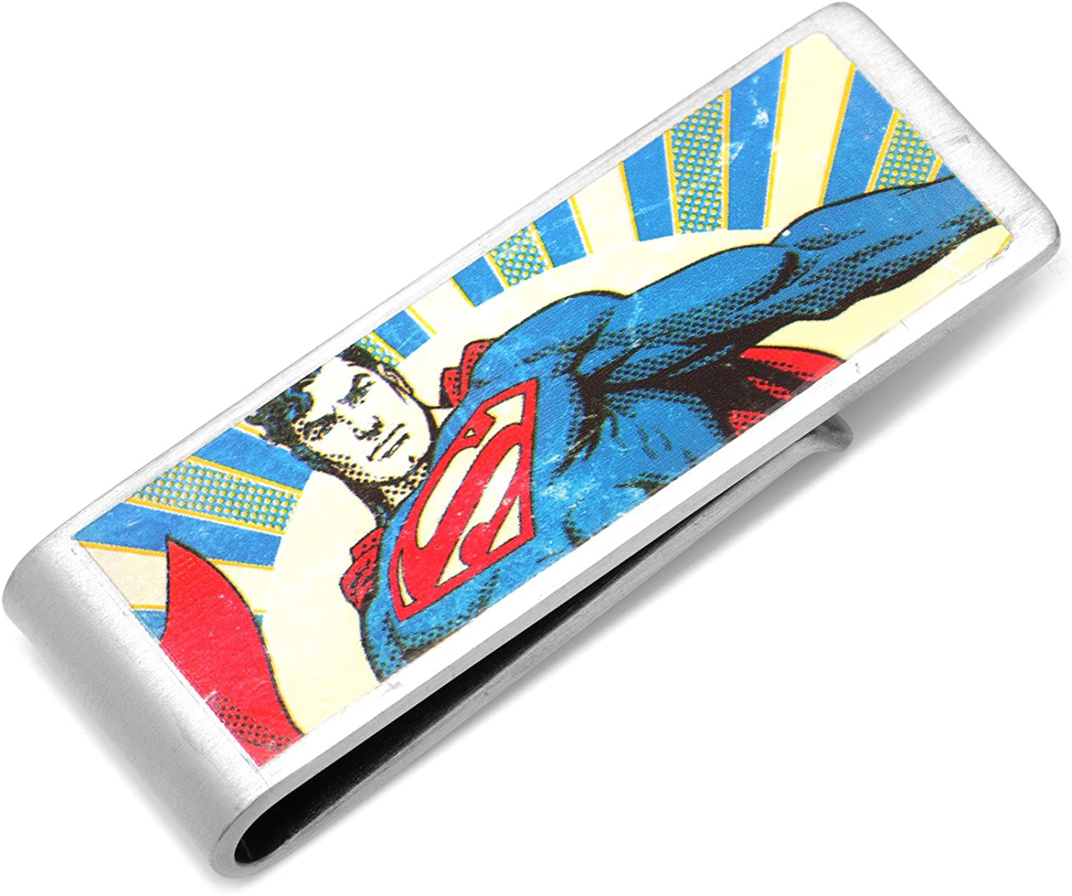 DC Comics Vintage 5 popular Superman Money Licensed Clip Cheap mail order sales Officially