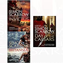 Invictus and britannia and day of the caesars 3 books collection set