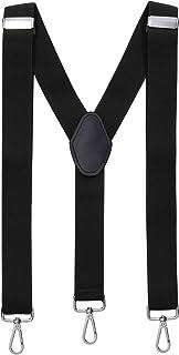 MASADA tirantes calidad fabricados a mano, con cierres de mosquetón resistentes y ajustes continuos con anchura de 3,5 cm ...