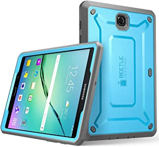 Galaxy Tab S2 9.7 Case, SUPCASE [Heavy Duty] Case for Samsung Galaxy Tab S2 9.7 Tablet [Unicorn Beetle PRO Series] Rugged Hybrid Protective Cover w/Builtin Screen Protector Bumper (Blue/Black)