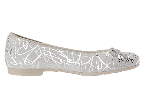 Allegro Pale Printed Earth Metallic Suede Grey gzpq1n6