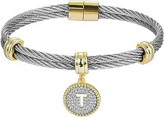 BIJOUX BOBBI Luxury Packaging Alphabets Initial Wire Bracelets & Necklaces - Quality Guaranteed
