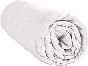 puredown/® 60/% Couette Duvet doie avec Housse 100/% Coton 100 g//m/² Couette D/ét/é Couette L/ég/ère Blanc 135x200cm