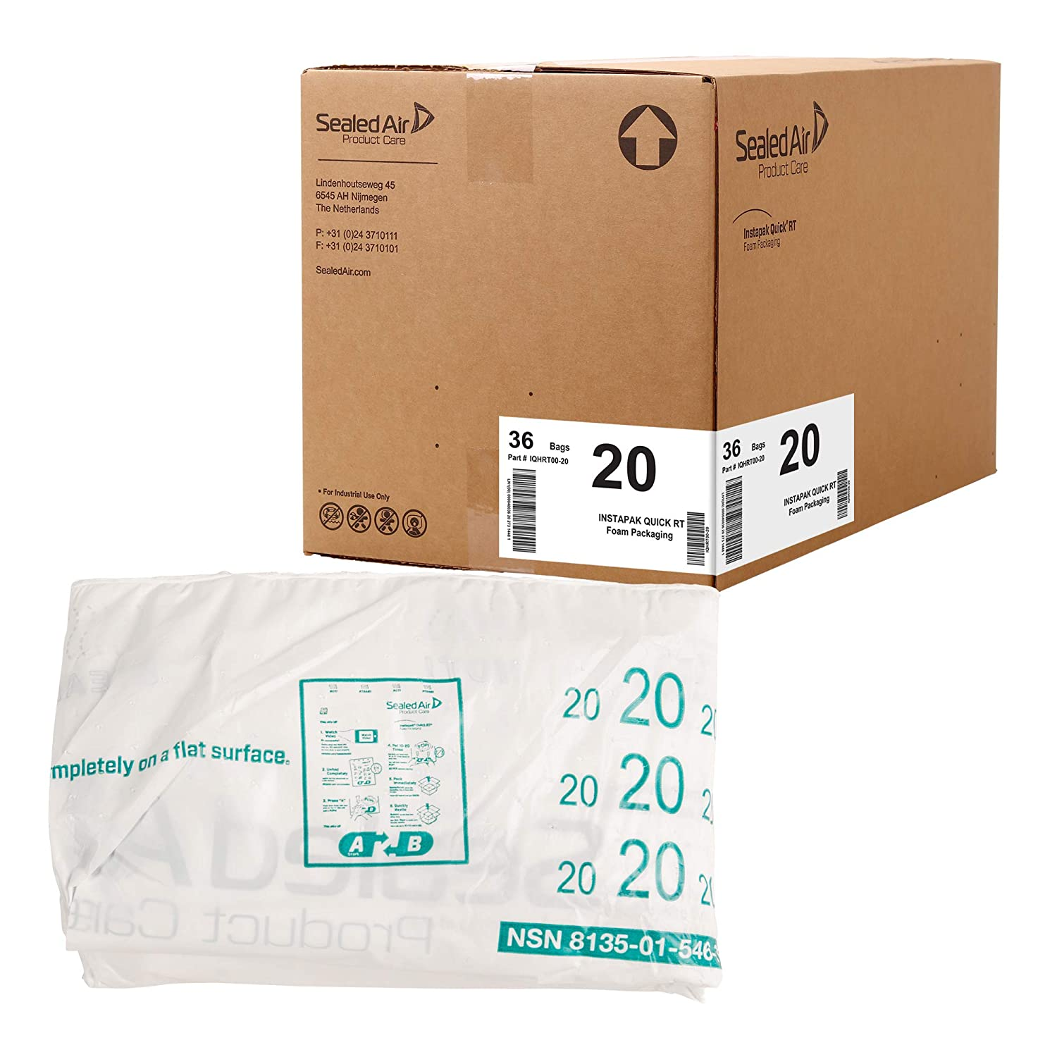 free Sealed Air Instapak Quick RT #100 Foam Duty Expandable Heavy Be super welcome Bag