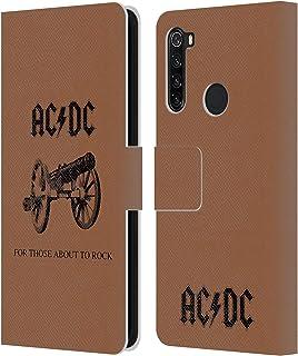 オフィシャル AC/DC ACDC アバウト・トゥー・ロック アルバムカバー Xiaomi Redmi Note 8T 専用レザーブックウォレット カバーケース