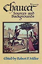 Chaucer: Sources and Backgrounds
