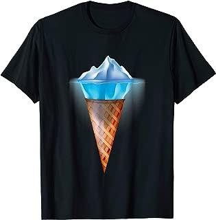 Best ice cream cone iceberg shirt Reviews