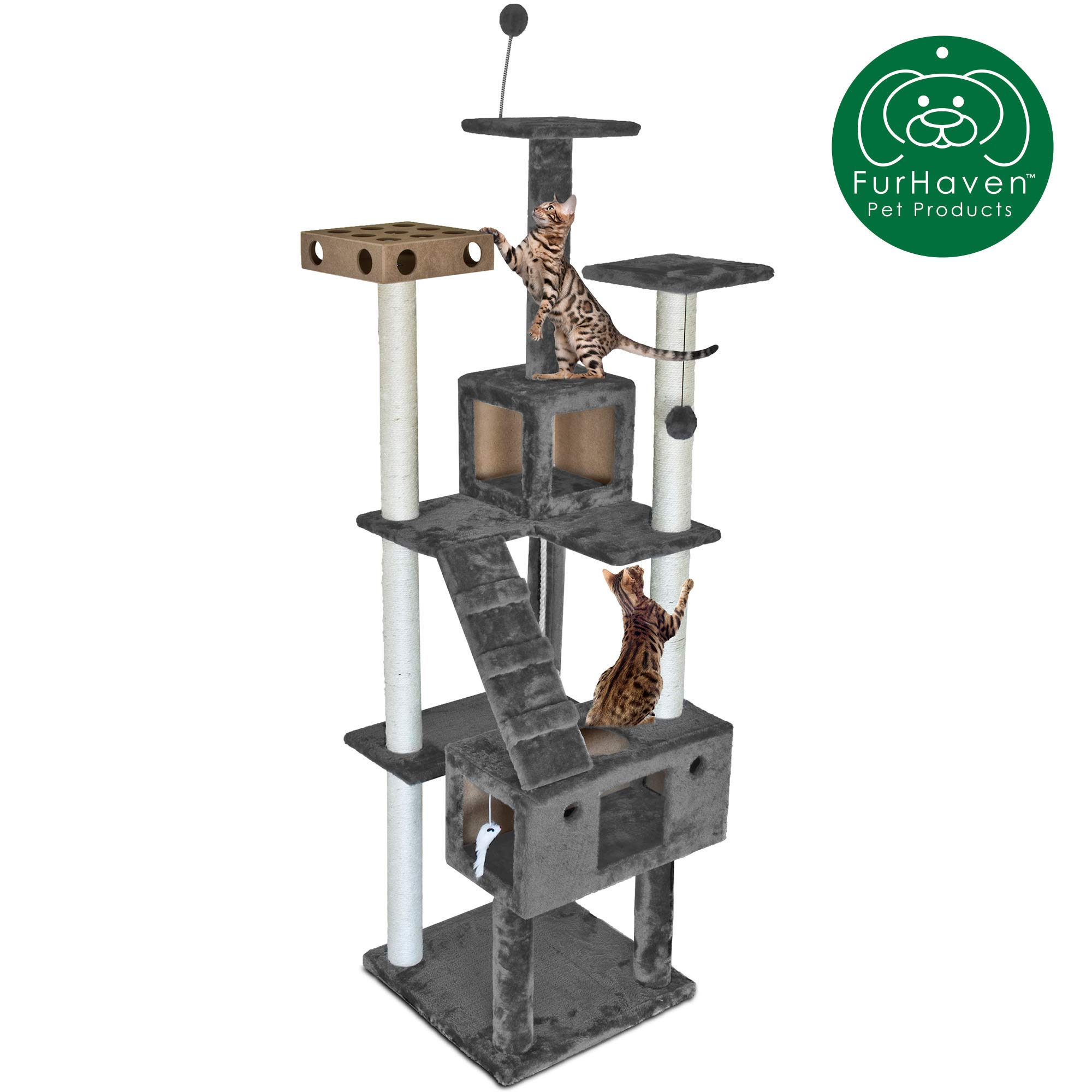 FurHaven Pet Furniture Kittens Playground